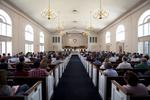 Estes Chapel Service - Aisle Shot 2