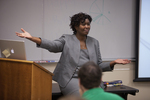Dr. Anne Gatobu Lecturing - 2