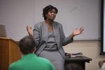 Dr. Anne Gatobu Lecturing - 3