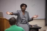 Dr. Anne Gatobu Lecturing - 4