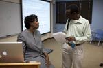 Dr. Anne Gatobu and David Ntogohnya Talking - 2