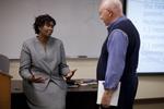 Dr. Anne Gatobu and Dr. Jim Hamilton Talking