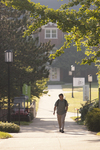 A Student Walking on Campus - 2