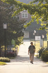 A Student Walking on Campus - 3