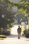 A Student Walking on Campus - 4