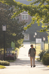A Student Walking on Campus - 5