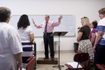 Dr. Bill Goold Directing a Singing Sems Rehearsal - 14