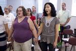 Singing Sems Rehearsal