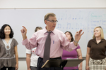 Dr. Bill Goold Directing a Singing Sems Rehearsal - 23