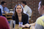 Amanda Zelazny in the Dining Hall