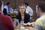 Amanda Zelazny in the Dining Hall - 2