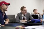 Isaiah Allen in Dr. Joe Dongell's Class