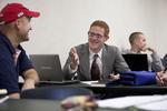 Isaiah Allen in Dr. Joe Dongell's Class - 2