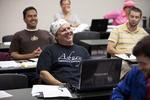 Gary Liederbach in Dr. Joe Dongell's Class