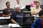Gary Liederbach in Dr. Joe Dongell's Class - 2