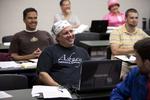 Gary Liederbach in Dr. Joe Dongell's Class - 3