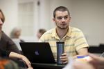 Aaron Buttery in Dr. Joe Dongell's Class