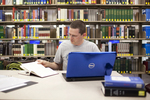 Jason Aycock in the Library - 2
