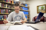 Jason Aycock in the Library - 5