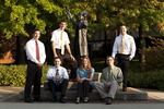 2011-2012 Kern Scholars Group Shot (Wesley Square) - 2