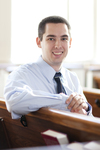 Kern Scholar Chris Peters (Estes Chapel)
