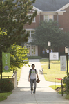 Kei Hiramatsu Walking on Campus