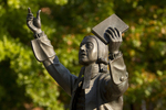 John Wesley Statue (Close-Up) - 2