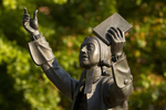 John Wesley Statue (Close-Up) - 3