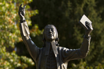 John Wesley Statue (Close-Up) - 5