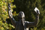 John Wesley Statue (Close-Up) - 6
