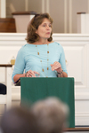 Dr. Ellen Marmon Preaching in Chapel - 7