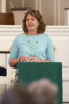 Dr. Ellen Marmon Preaching in Chapel - 10