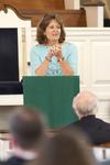 Dr. Ellen Marmon Preaching in Chapel - 14