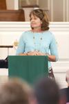 Dr. Ellen Marmon Preaching in Chapel - 15