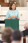 Dr. Ellen Marmon Preaching in Chapel - 22