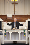 Dr. Bob Stamps Celebrating the Eucharist in Chapel - 2