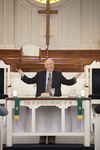 Dr. Bob Stamps Celebrating the Eucharist in Chapel - 3