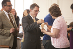 Dr. Tim Tennent Receiving Communion in Estes Chapel