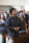Eugene Kim Singing in Estes Chapel