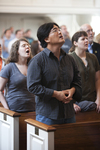 Eugene Kim Singing in Estes Chapel - 2