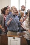 David Dorn Singing in Estes Chapel