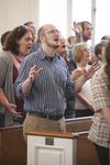 David Dorn Singing in Estes Chapel - 2