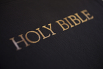 A Bible on a Table (Close-Up) - 3