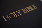 A Bible on a Table (Close-Up) - 4