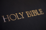 A Bible on a Table (Close-Up) - 5