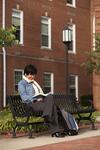 Kyoko Murata Reading on Campus