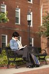 Kyoko Murata Reading on Campus - 2
