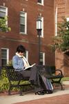 Kyoko Murata Reading on Campus - 3