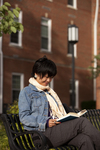 Kyoko Murata Reading on Campus - 4