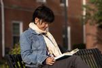 Kyoko Murata Reading on Campus - 5